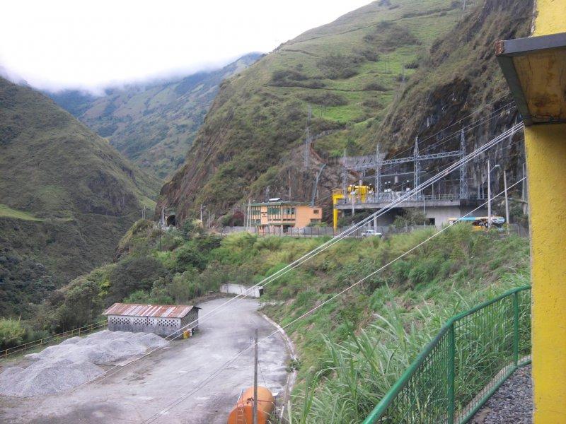 Гидростанция в окрестностях Баньос / Ecuador Baños